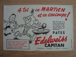 BUVARD PATE EDELWEISS CAPITAN - Alimentaire