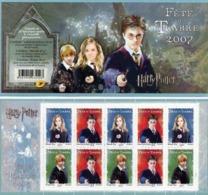 FRANCE  - CARNET -  HARRY POTTER - FETE DU TIMBRE - Dag Van De Postzegel