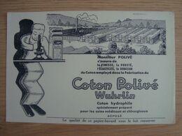 BUVARD COTON POLIVE WUHRLIN - Carte Assorbenti