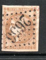 N° 43B TB - 1870 Emission De Bordeaux