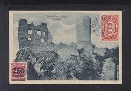 Dt. Reich AK Neumarkt 1923 Nach CSR Gelaufen - Deutschland
