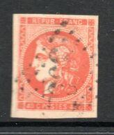 N° 48 Orange Vif TB - 1870 Ausgabe Bordeaux