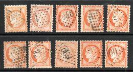 N° 38 Par 10 Exemplaires TTB - 1870 Beleg Van Parijs