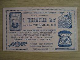 BUVARD HORLOGERIE BIJOUTERIE L. TRIERWEILER THIONVILLE - H