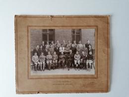 Photo 223 Mm X 160 Mm Sur Carton - 1936 - Ecole Collège Jean Bart Dunkerque 59 - Photo Tourte & Petitin Levallois-Paris - Anonymous Persons