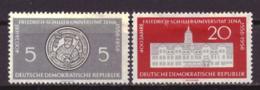 DDR 647 & 648 MH * (1958) - DDR