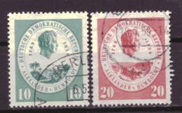 DDR 684 & 685 Used (1959) - DDR