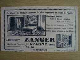 BUVARD AMEUBLEMENT ZANGER HAYANGE MOSELLE - M