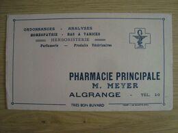 BUVARD PHARMACIE M. MEYER ALGRANGE - Vloeipapier