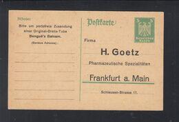 Dt. Reich GSK Vordruck Bengue's Balsam - Deutschland