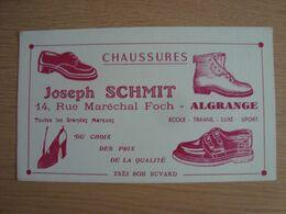 BUVARD CHAUSSURES JOSEPH SCHMIT ALGRANGE - Chaussures