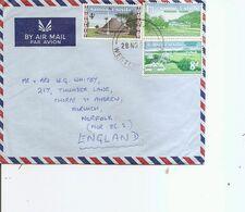 Samoa ( Lettre Par Avion De 1982 De Apia Vers La Grande-Bretagne à Voir) - Samoa