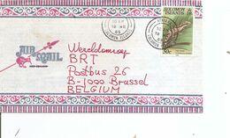 Salomons ( Lettre Par Avion De 1985 De Honiara Vers La Belgique à Voir) - Isole Salomone (1978-...)