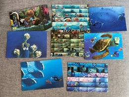 DISNEY Postcards, Lot Of 8 Finding Nemo Postcards, The Art Of Pixar - Other