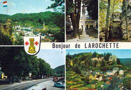 1 AK Luxemburg * Ansichten Von Fels (Larochette) U.a. Die Burg, Das Wappen Und Einen Blick Auf Larochette * - Larochette