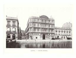1912 - Phototypie - Sète (Hérault) - Le Grand Hôtel - PRÉVOIR FRAIS DE PORT - Unclassified