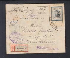Persien Persia Iran R-Brief 1907 Sultanabad Arak Nach Deutschland - Iran