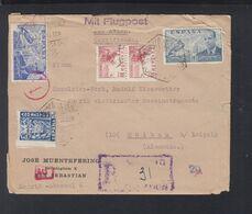 Spanien Espana R-Brief 1944 San Sebastian Nach Deutschland - 1931-Heute: 2. Rep. - ... Juan Carlos I