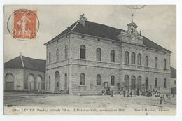25/CPA A  - Levier - Hotel De Ville, Construit  En 1860 - Frankrijk