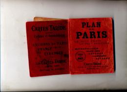 Plan De Paris Index Des Rues 1923 - Europa