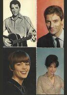 8 Chanteurs Et Acteurs-cp Semi-modernes - 5 - 99 Cartes