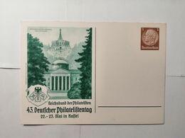 Deutsches Reich  Postkarte  43 Deutscher Philatelisten - Allemagne