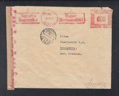 Ungarn Hungary Freistempel 1942 Auf Brief Nach Deutschland - Ungarn