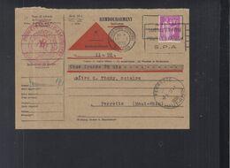 Frankreich France PK Remboursement 1936 Ferrette - 1921-1960: Periodo Moderno