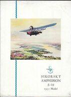 Sikorsky Amphibion S 39 1931 Model - Manuali