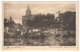 86 - MONTMORILLON - Bords De La Gartempe - Eglise Notre-Dame - CAP 16 - Montmorillon