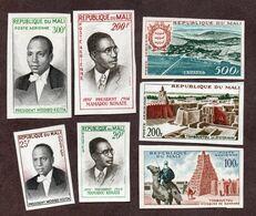 Mali 13,14 Et PA N°9/10,12/14 Non Dentelés N** LUXE !!!RARE - Mali (1959-...)