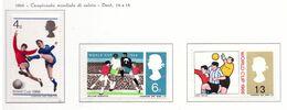PIA - GRAN BRET - 1966 : Campionati Del Mondo Di Footbal -  (Yv  441-43) - Coupe Du Monde
