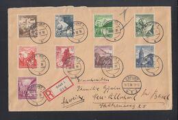 Dt. Reich Grossbrief 1938 Erfurt Nach Schweiz - Deutschland