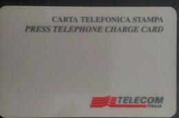 SCHEDA TELEFONICA ITALIANA - USI SPECIALI - STAMPA- SALA STAMPA 1994 C&C 4041 - Collezioni