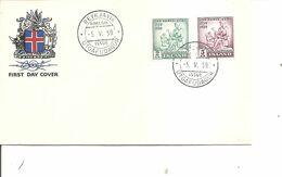 Islande ( FDC De 1959 à Voir) - FDC