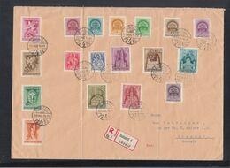Ungarn Hungary Grossbrief 1939 Budapest Nach Schweiz - Ungarn