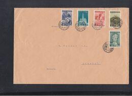 Ungarn Hungary Grossbrief 1939 Budapest Nach Schweiz (2) - Ungarn