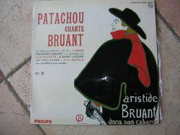 """33 Tours 25 Cm - PATACHOU  -  PHILIPS 76560  """" LA BELLE-SOEUR A ELOI """" +  7 ( CHANTE BRUANT ) - Vinyl Records"""