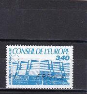 FRANCE  SERVICE OBLITERES : 1986 Y/T N°95 - Usati