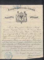 USA Preussen Konsulat In St. Louis Missouri Dokument - Historische Dokumente