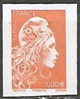 FRANCE N° 5254A  NEUF Non Dentelé - 2018-... Marianne L'Engagée