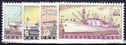 ** Tchécoslovaquie 1960 Mi 1179-82 (Yv 1062-5), (MNH) - Ungebraucht