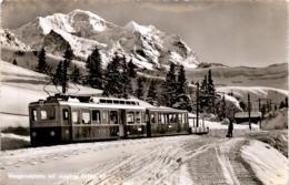 Wengernalpbahn Mit Jungfrau (7042) * 24. 2. 1956 - BE Berne