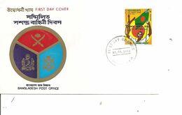 BanglaDesh - Drapeaux ( FDC De 1982 à Voir) - Bangladesh