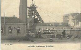 CHATELET : Fosse Du Boubier - Mine - Charbonnage - D.V.D. 9524 - TRES RARE CPA - Châtelet