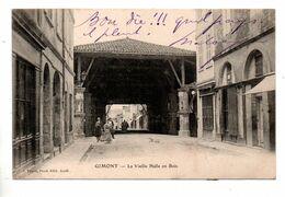 32 - GIMONT . LA VIEILLE HALLE EN BOIS - Réf. N°10212 Bis - - Other Municipalities