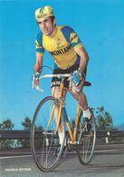 CARTE CYCLISME FRANCO BITOSSI TEAM SAMMONTANA 1973 ( FORMAT 15 X 21, USADA, VOIR PHOTO DEL ANNONCE ) - Ciclismo