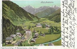 OLD POSTCARD - LITHO AUSTRIA - BOCHSTEIN - VIAGGIATA 1899 - T100 - St. Johann Im Pongau