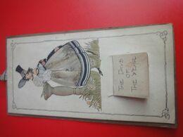 Lot De 2 Petits Calendriers Anciens - Calendars
