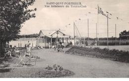 22 . N°105873 . Saint Quay Portrieux .tennis .vue Interieure Du Tennis Club . - Saint-Quay-Portrieux